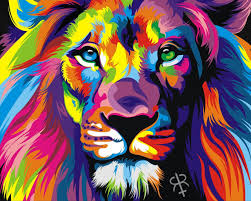 rainbow animal wallpaper. Exellent Wallpaper OriginalHD Rainbow Lion Wallpapers Throughout Animal Wallpaper A