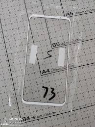 Suspected Meizu 16s Pro Front Panel Exposure The Phone Talks