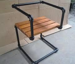 industrial pipe furniture. Black Pipe Chair Industrial Furniture M