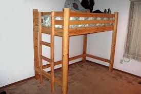 diy loft bed plans beds bunk safe