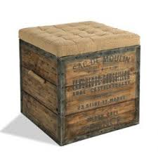 wood cubes furniture. the aidan gray reclaimed wooden cube brings rustic french charm wood cubes furniture