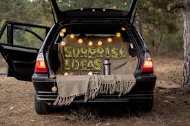 ideas for decorating your car boot for