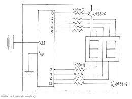 logic diagram segment display the wiring diagram arduino 2 digit 7 segment display circuit wiring wiring diagram