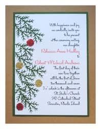 Make Your Own Christmas Wedding Invitations Christmas Wedding