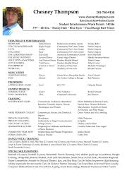 Actor Resume Template Acting Resume Template 244 No24powerblasts 10