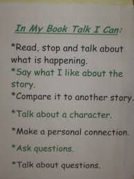 Book Talk Anchor Chart Grade 3 Reading Resources