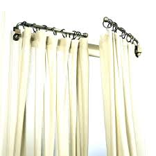 grommet curtain rods black bronze hangers dry home depot with plans 9