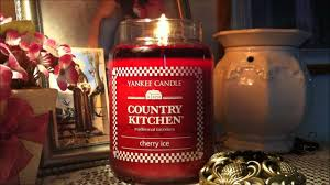 Yankee Candle Country Kitchen Yankee Candle Cherry Ice Country Kitchen Review Youtube
