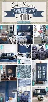 Color Series Decorating With Indigo Woonkamer Huis Interieur