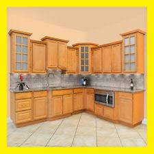 Kitchen cabinets wood Dark Kitchen Cabinets Richmond All Wood Honey Stained Maple Group Sale Aaa Kcrc23 Kitchen Cabinet Value Wood Kitchen Cabinets Ebay