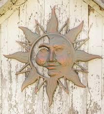 mysterious sun face metal wall art on mysterious sun face metal wall art with mysterious sun face metal wall art wind and weather