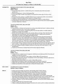 Hospital Coo Resume Sample Fresh Account Executive Healthcare Resume ...