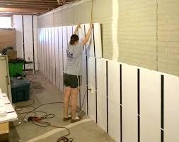 relatively basement brick wall ideas finishing insulated basement wall panels ii32