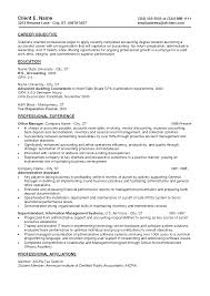 Staff Accountant Cover Letter Resume Summary Examples Entry Level