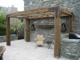 Simple Pergola rustic timber pergola love the simple look but with less roof 3826 by xevi.us