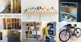 creative garage shelving ideas