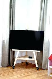 tv stand easel media easel stand sgreat rooms media easel tv stand tv stand diy tv stand easel