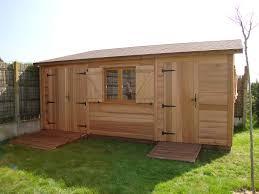 Fabriquer Une Porte En Bois Pour Abri De Jardin Finest Jpg With Plan Abri De Jardin Une Pente Garage B Ton Aspect Bois Abris En B