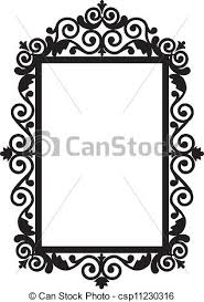 antique frame drawing. Antique Frame - Csp11230316 Antique Drawing 3