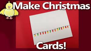How To Make Handmade Christmas Cards Or Party Invitation Christmas