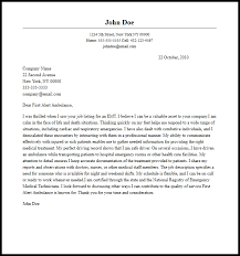 Basic Cover Letter Sample Filename My College Scout