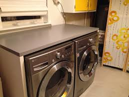counter over washer and dryer ikea. Delighful Ikea Ikea Linnmon Tabletops To Build Counter Around Washer And Dryer Genius In Counter Over Washer And Dryer Pinterest