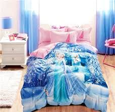elsa bedding set frozen princess anna cartoon