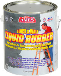 Block  Wall Liquid Rubber Waterproof Coating - Insulating block walls exterior
