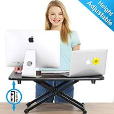 FITUEYES Height Adjustable Standing Desk Gas ... - Amazon.com