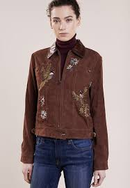 polo ralph lauren leather jacket brown rn8000