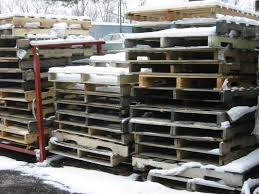 Pallets Will Your Wood Pallets Survive Winter Storm Jonas