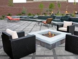 patio ideas with square fire pit. Patio Ideas With Fire Pit For Warm Outdoor Ambiance Square O