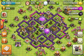 Base 7 Town Hall 7 Clash Of Clans