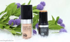makeup forever ultra hd foundation review cover stick