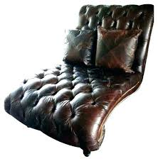 faux leather chaise lounge chair white where emily henderson chais