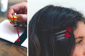 + de 10 ideais diy para customizar grampos de cabelo + tutoriais