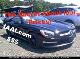 You can sell salvage vehicles of any kind to insurance auto auctions, inc. The Secret About Iaai Prices Iaai Fees Youtube