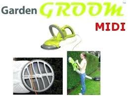 garden groom garden groom midi safety hedge trimmer includes free volume bag view 5 garden groom garden groom