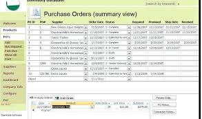 Inventory Control Templates Excel Free Stock Control Spreadsheet