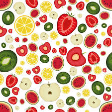 Fruit Pattern New Seamless Fruit Pattern Royalty Free Cliparts Vectors And Stock