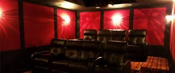 Small Picture Elegant Home Theater Home Theater Design Installation St