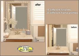 large bathroom mirror frame. Full Size Of Furniture:elegant Silver Bathroom Mirror 13 With Frame 670x476 Large
