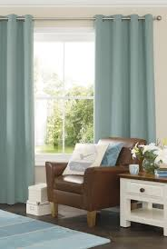 Light Blue And Brown Decor Potential Spare Room Curtains Light Blue Curtains Blue