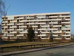 Free Images Plaza Facade Property Tower Block Balconies Flats