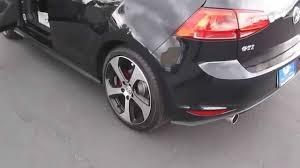 volkswagen gti 2015 black. 2015 volkswagen gti deep black pearl stock 110068 walk around youtube gti