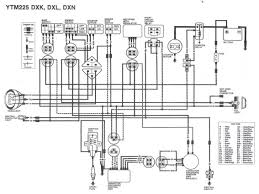 yamaha dt125x wiring diagram 58632 circuit and wiring diagram wiring diagram yamaha tri motos ytm225dxk 1983 ytm225dxl 1984 ytm225dxn 1985