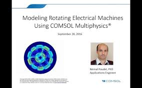 Multiphysics Simulation By Design For Electrical Machines Modeling Rotating Electrical Machines In Comsol Multiphysics