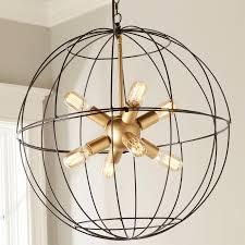 sputnik light luxury young house love wire globe sputnik chandelier shades of light
