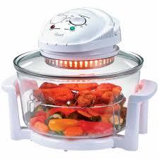 deni 10400 convection oven 10 4 qt halogen countertop portable cooking glass for