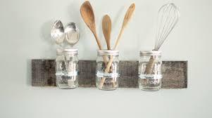 Craft For Kitchen Mason Jar Kitchen Decorating Ideas Mason Jar Ideas